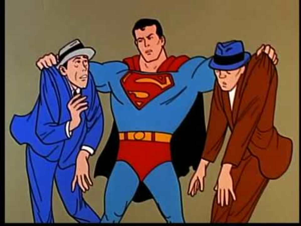 Each episode contained two 7 minute Superman shorts