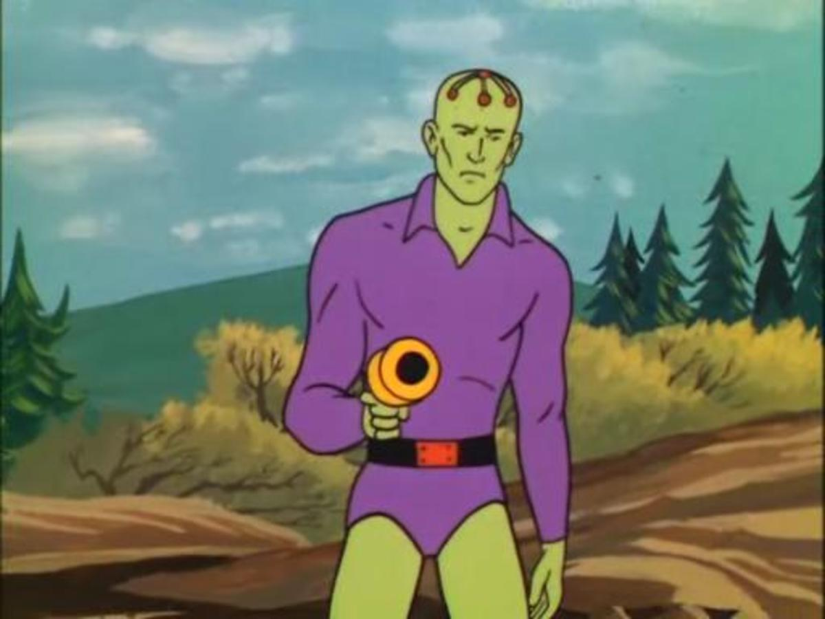 This cartoon marked the first screen appearance of several of Superman's most iconic villains, such as Braniac