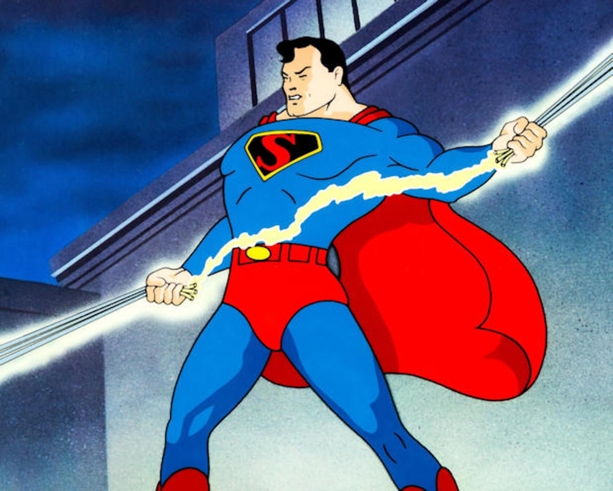 Superman's first animated appearance was in 1941 from Fleischer Studios
