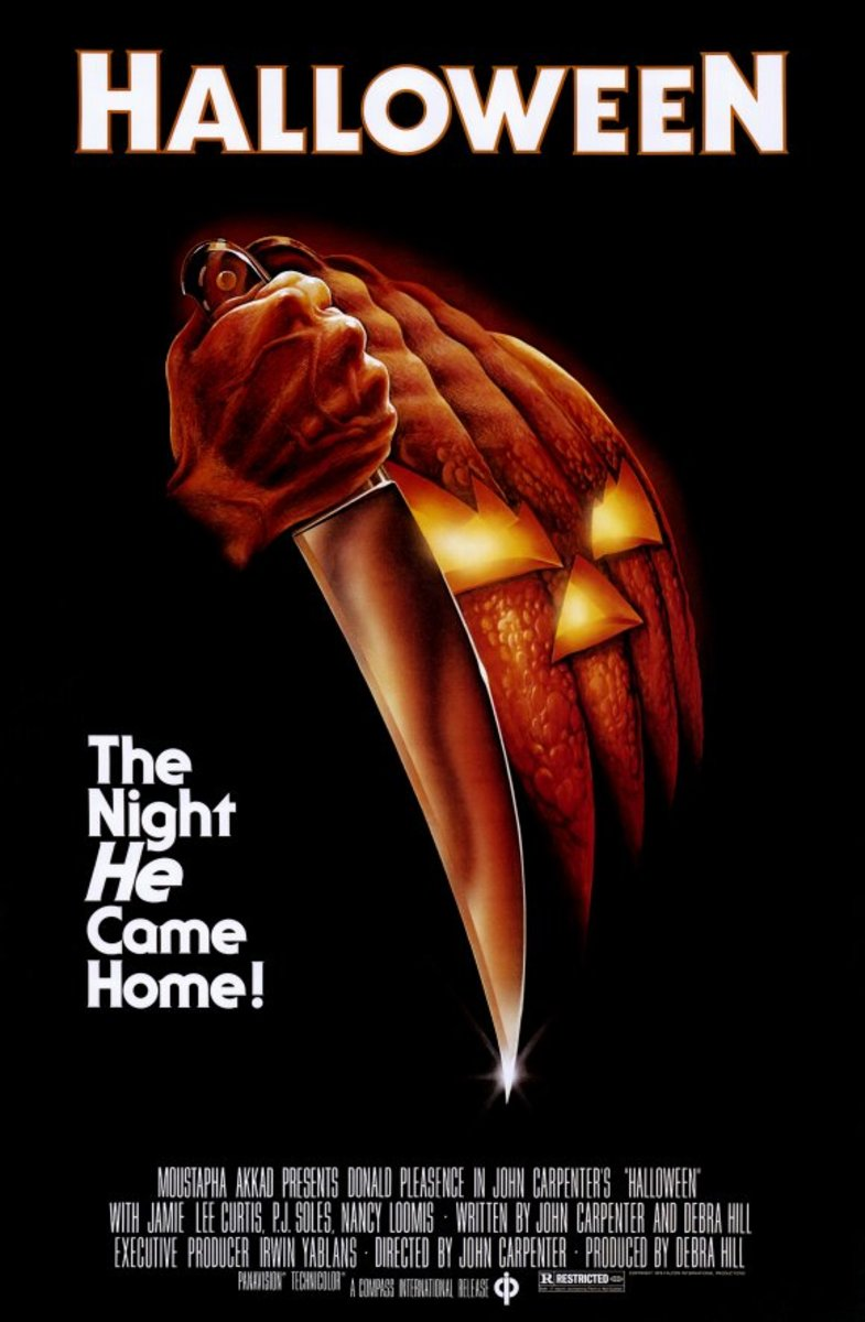 The 10 Halloween movies' box office take is $366,893,444 worldwide.