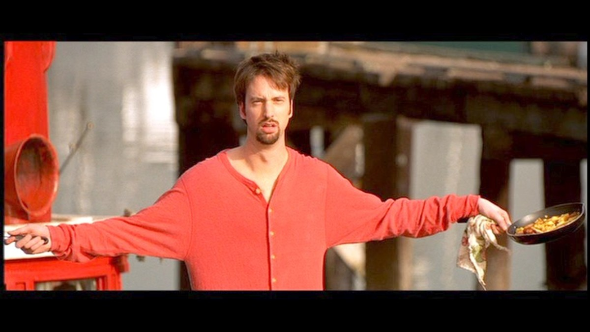 Tom Green - by far and away the least funniest individual I've ever seen in any movie. And I'm including animals.