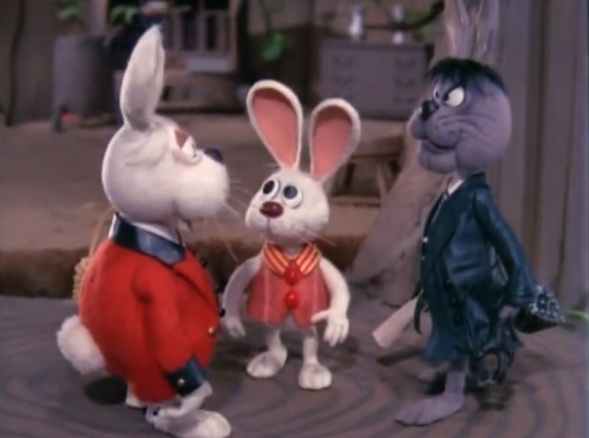 Cottontail and Irontail enter a contest to decide who'll be the new Chief Easter Bunny