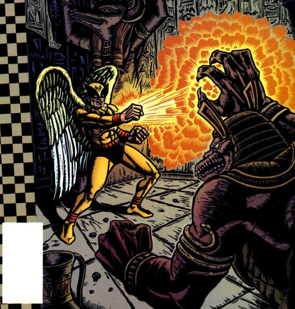 "Birdman on the cover of ""Cartoon Network Presents #5"""