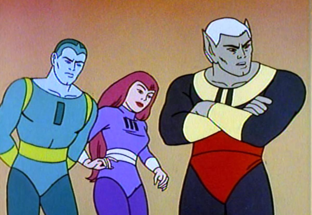 Vapor Man, Gravity Girl, and Meteor Man