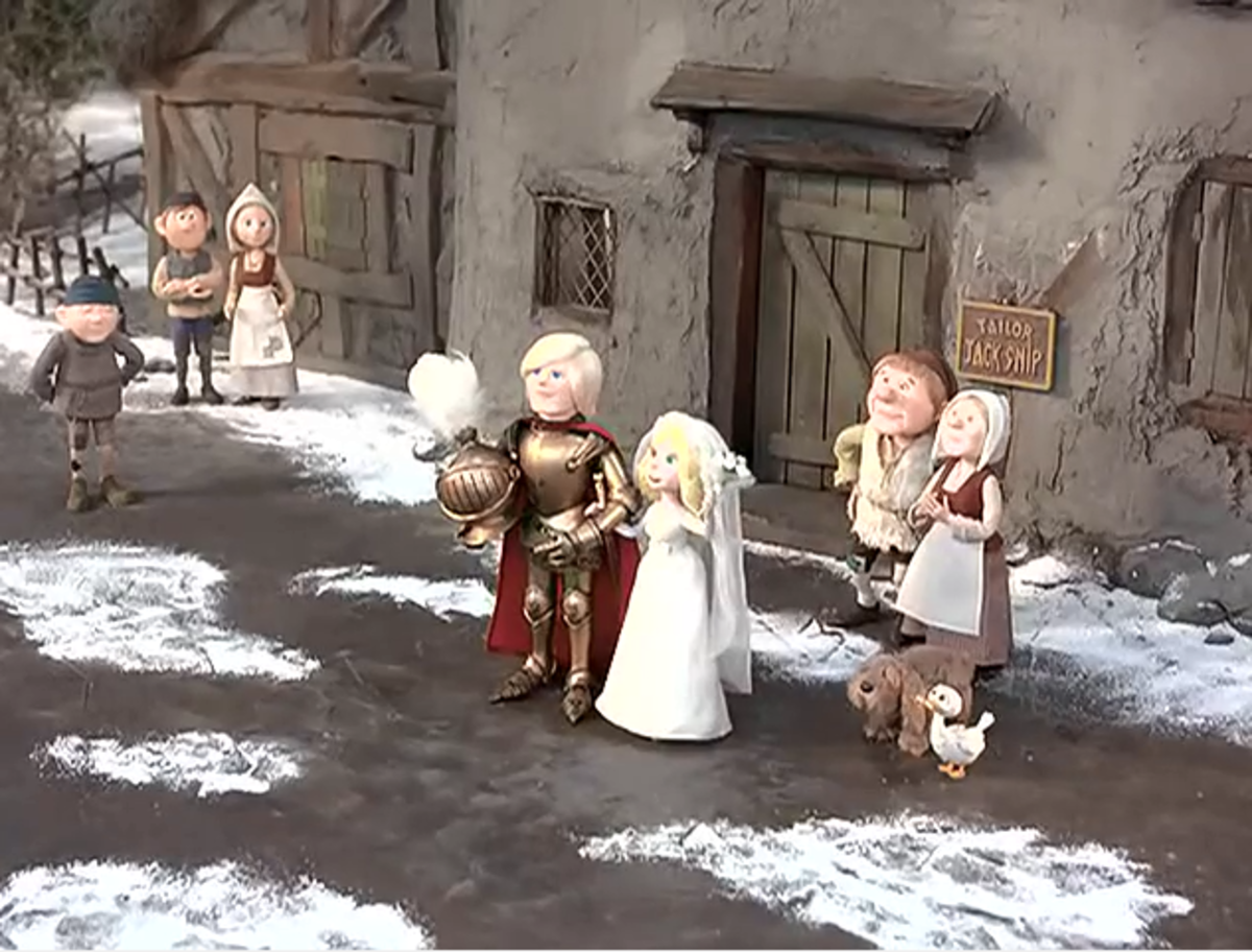 With winter at its end and spring begun, Jack Frost returns to being a spirit and Elisa marries Sir Ravenal.