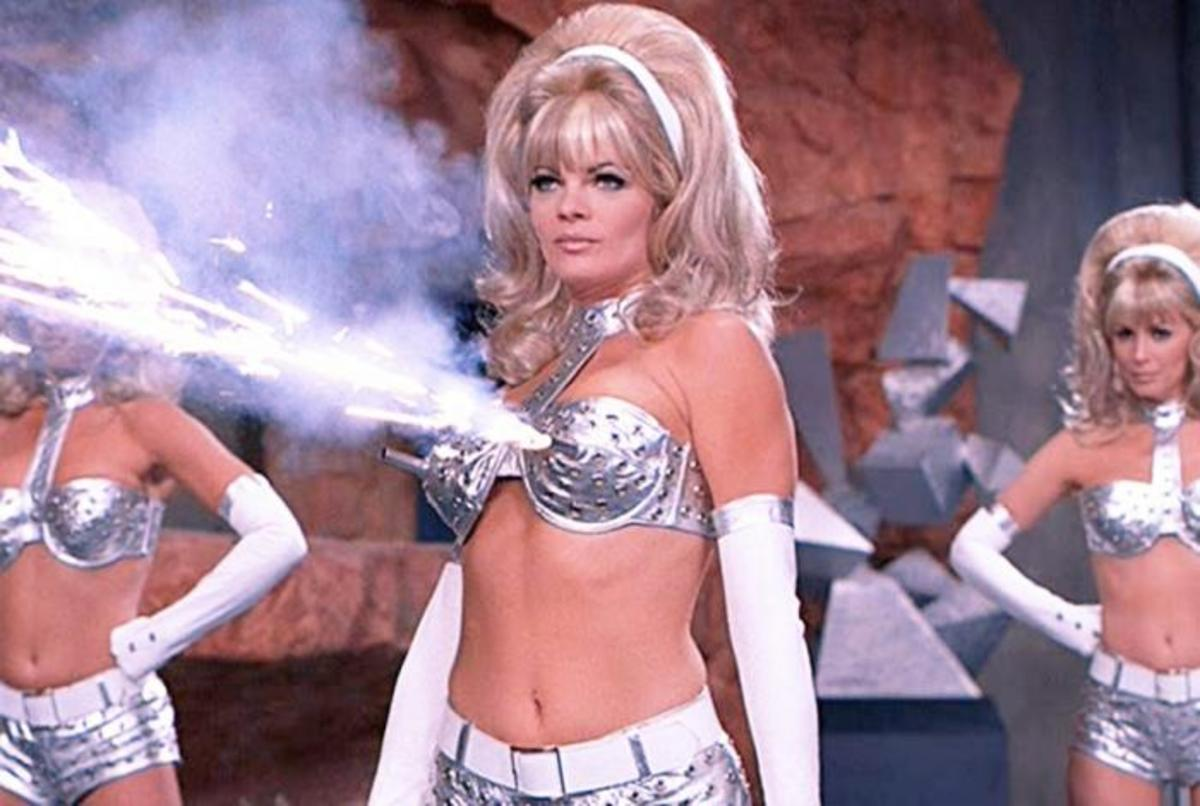 Tragically, we don't see much more of the Fembots in the series...