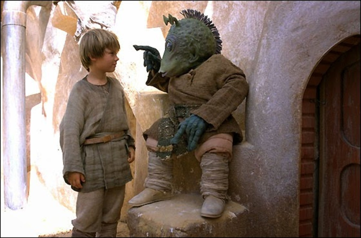 Anakin and Greedo