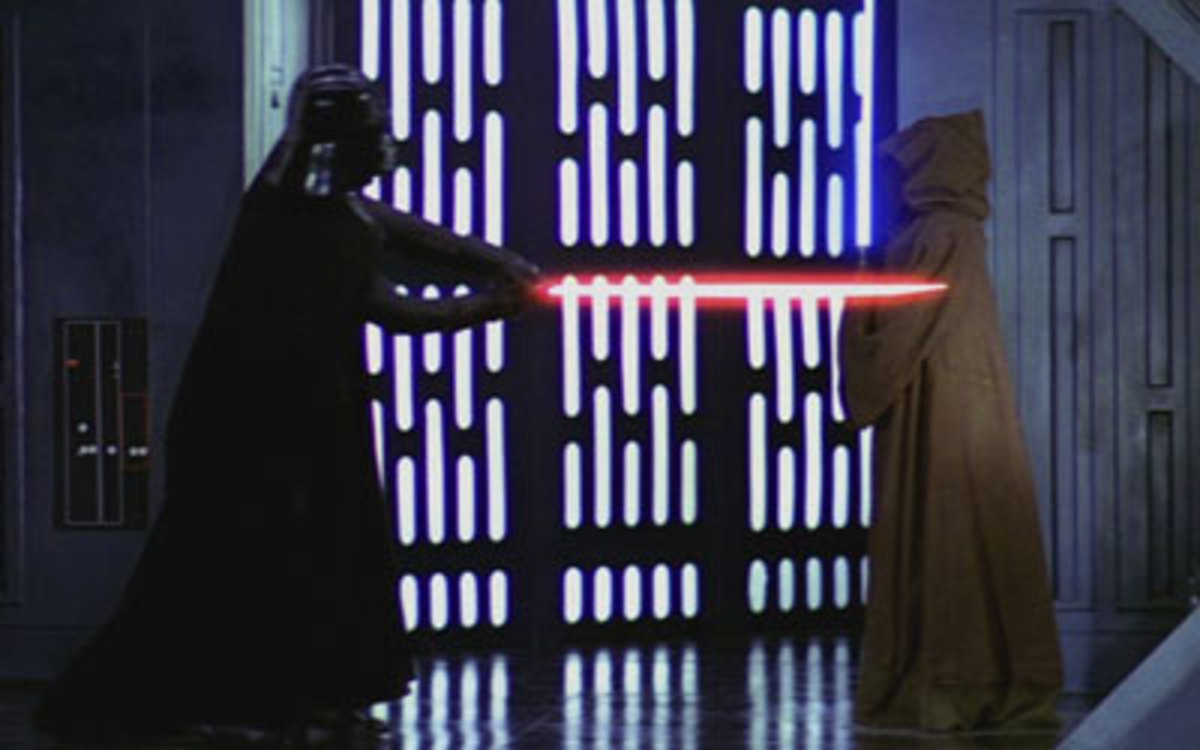 Darth Vader kills Obi-Wan