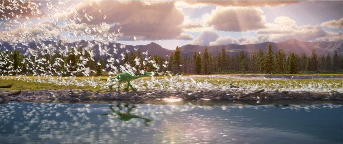The film's real strengths lie with its astonishing quality of animation of landscapes, clouds and water - such a shame that the characters look too cartoony.