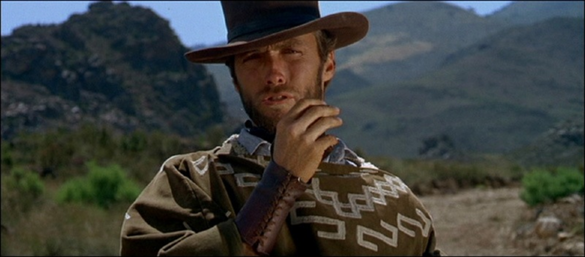 Eastwood's Man With No Name may be the star but the film's standout performance belongs to Wallach to the ugly Tuco.