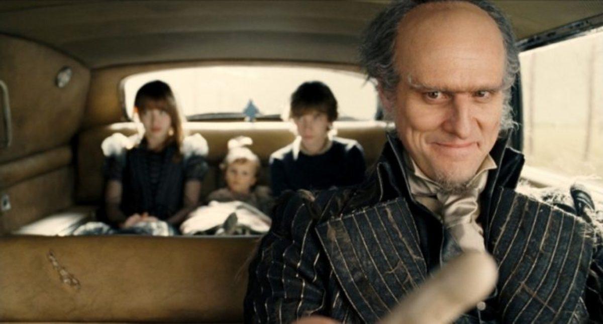 Carrey as Olaf