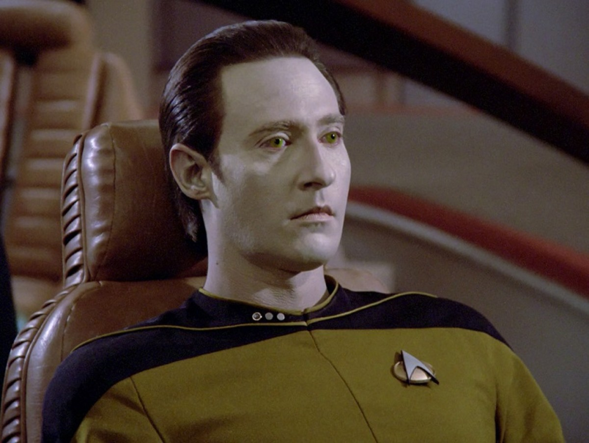 Spiner's android officer Data kinda hijacks the film, much like he did on the TV show.