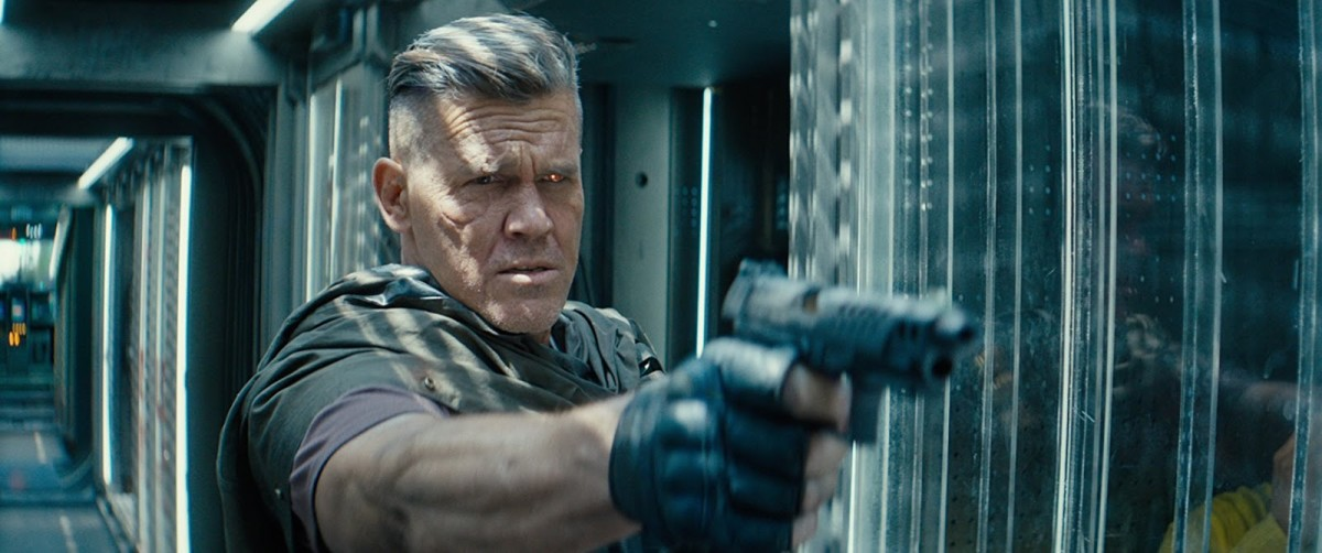 Brolin's appearance as Cable is different to his all-conquering Thanos and it won't be the last time we see him as the time-travelling cyborg.