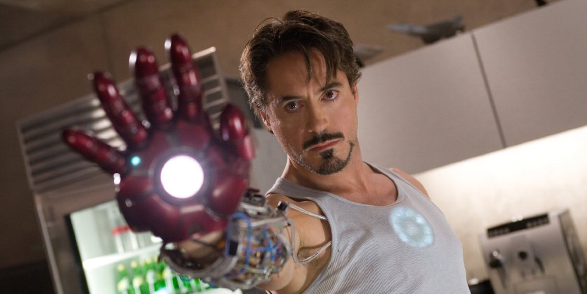 Downey Jr suits up as Iron Man