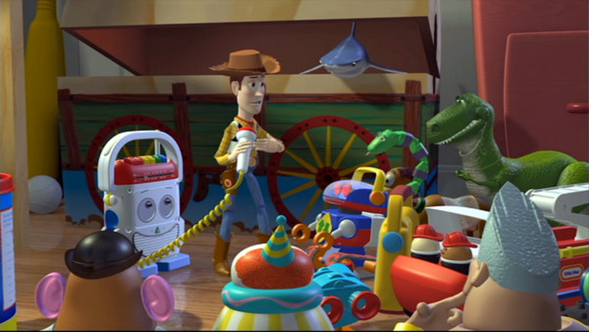 The animation looks crude compared to later Pixar efforts but the material shines through regardless.