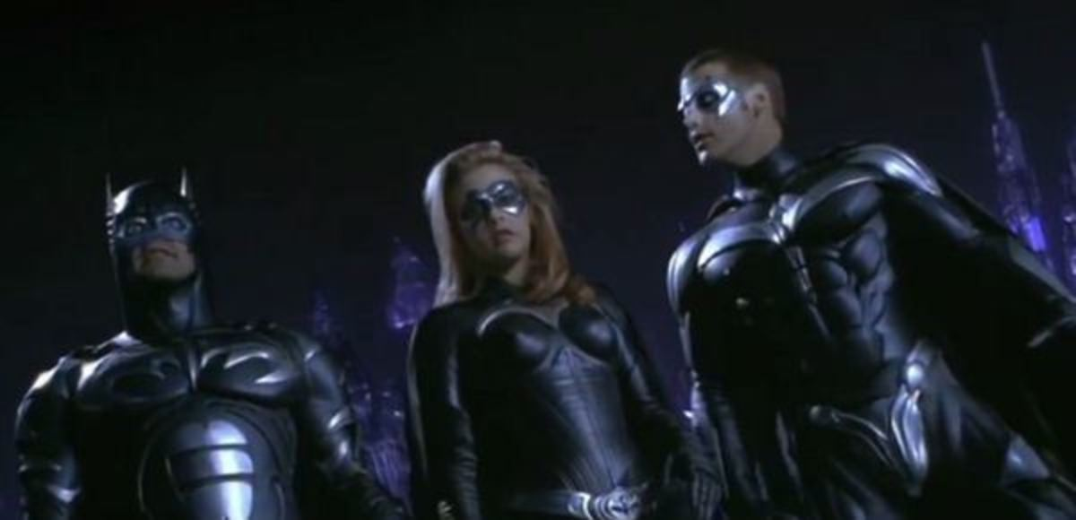 Holy Bat-Nipples! You know something is amiss when they can't even get the costumes right...