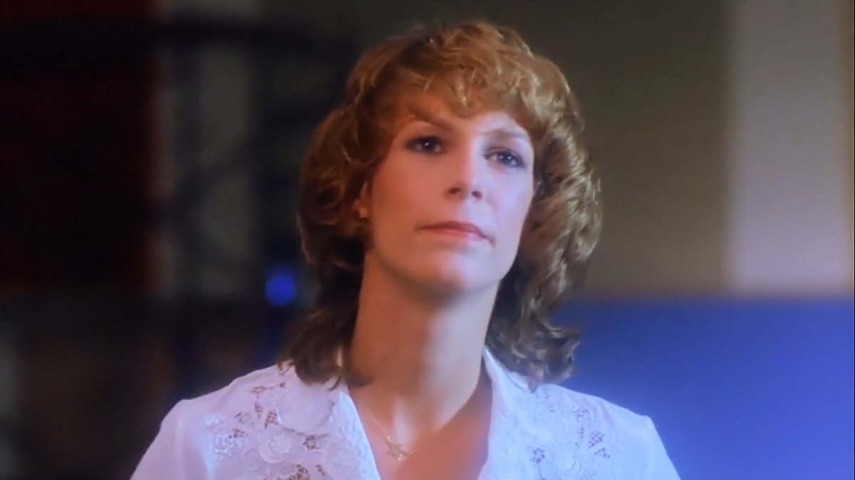 Jamie Lee Curtis as Kim in 'Prom Night' (1980).