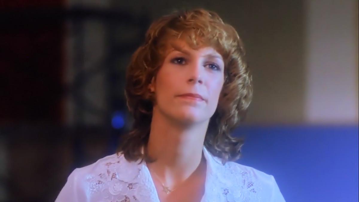 Jamie Lee Curtis as Kim in 'Prom Night' (1980).