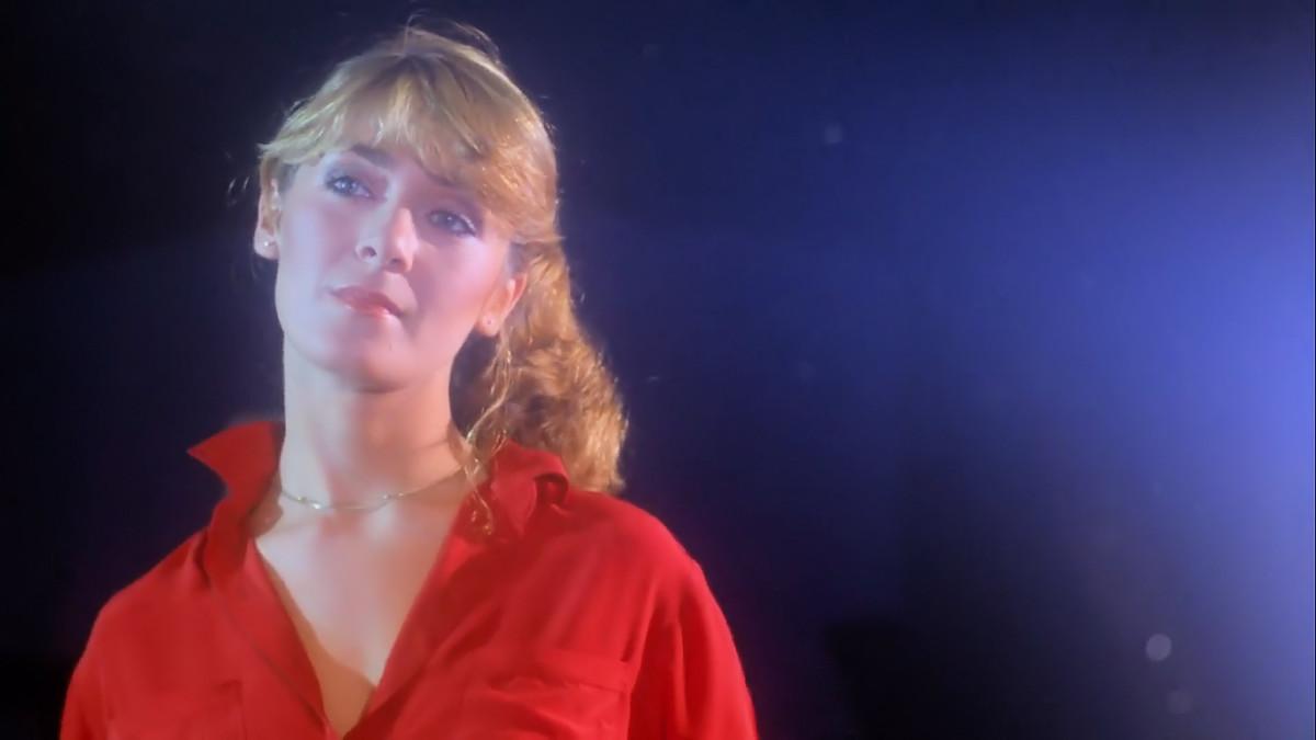 Edmonda Benton (now Anne-Marie Martin) as Wendy in 'Prom Night' (1980).