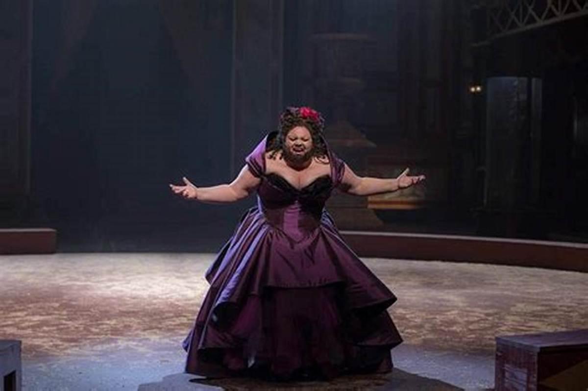 Keala Settle as Lettie Lutz, the bearded lady,