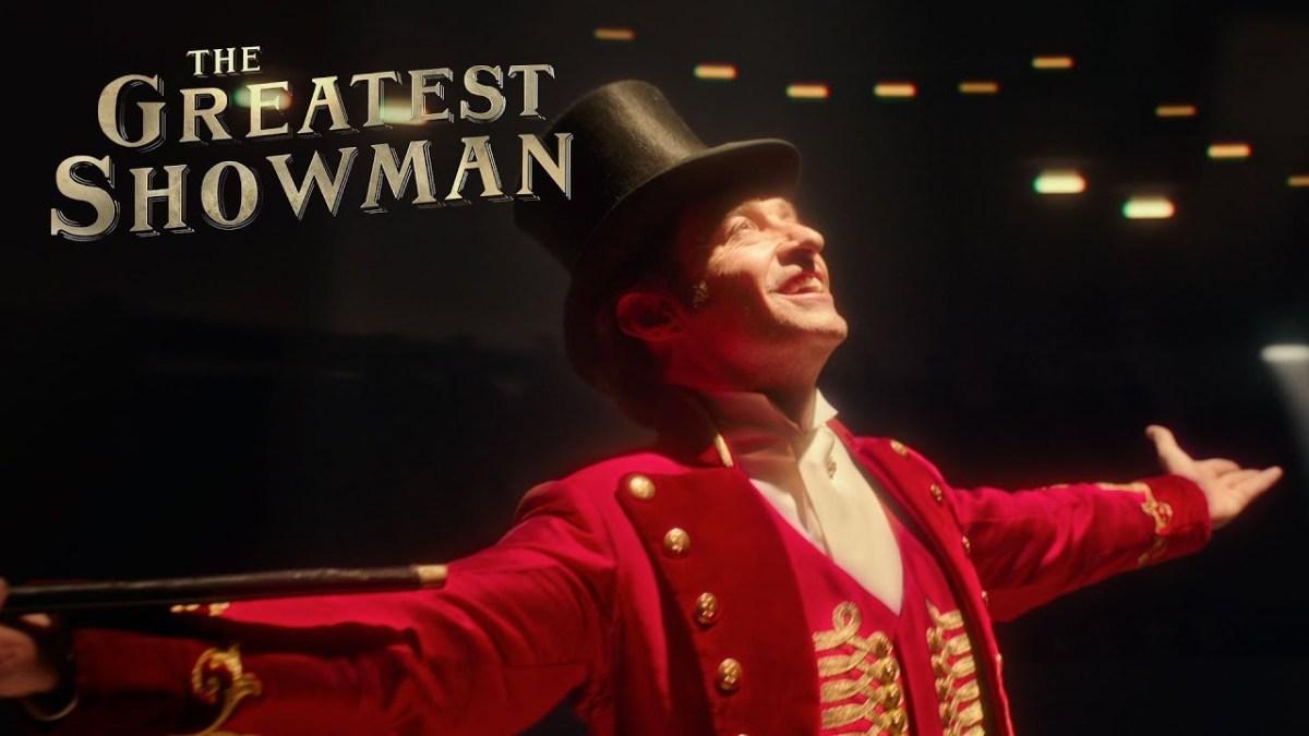 Hugh Jackman as PT Barnum.