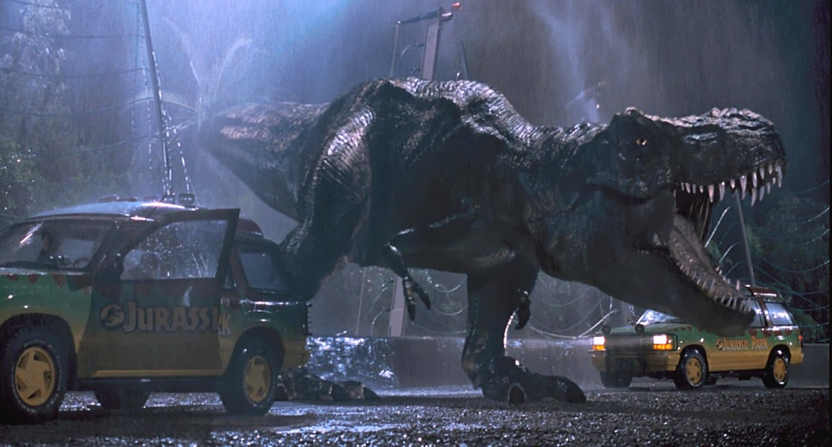 The Tyrannosaurus Rex is still a terrifying sight to behold...