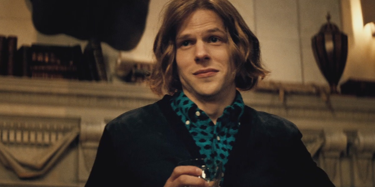 Eisenberg's jittery portrayal of Luthor feels out-of-place, over-the-top and almost single-handedly ruins the picture.