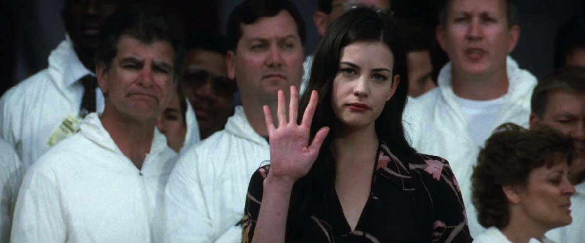 Liv Tyler concedes that the best thing about the film is her father's song 'I Don't Wanna Miss A Thing'.