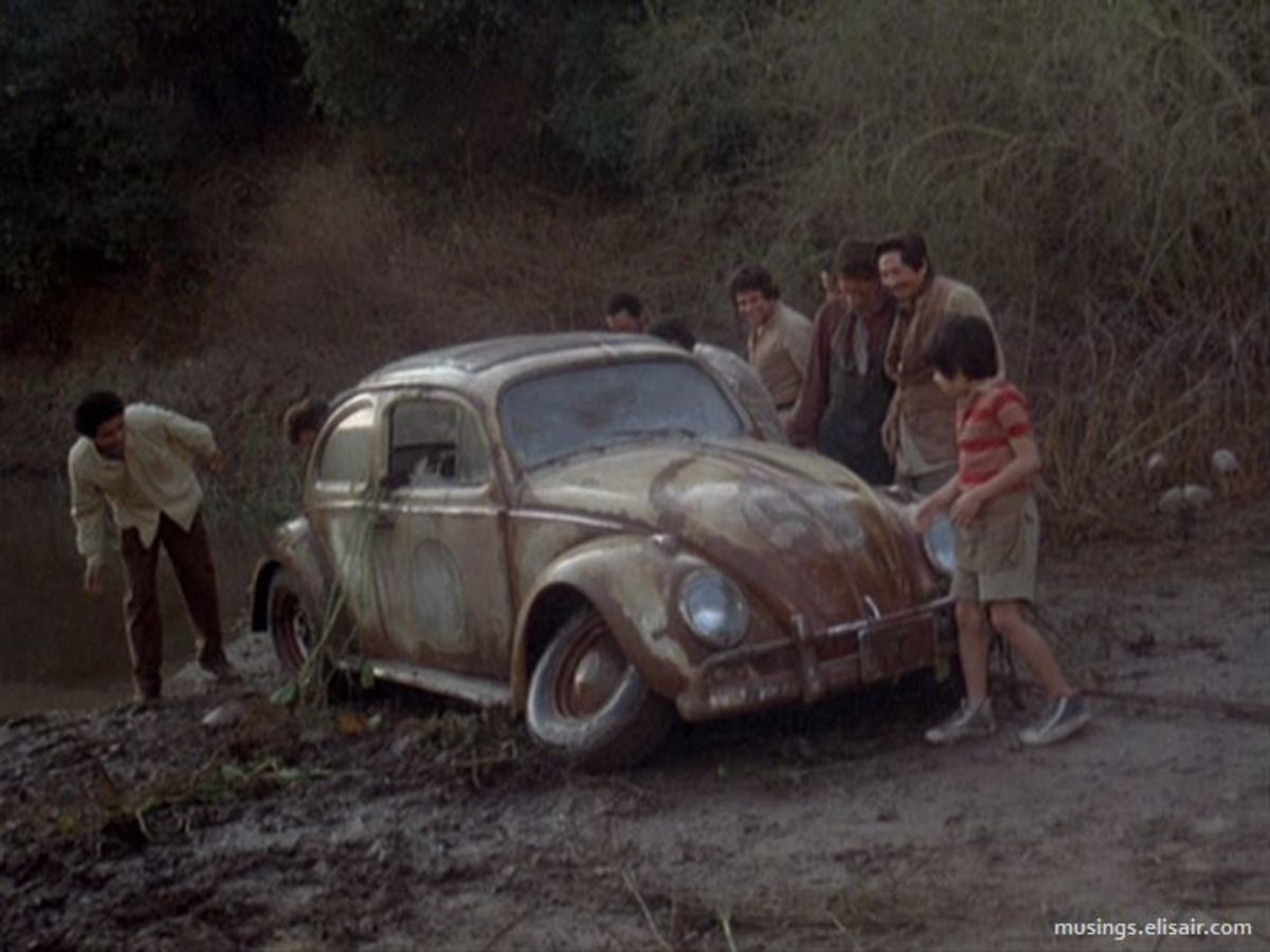 Hate to say it but it was around this film that the series' wheels came off, almost literally.