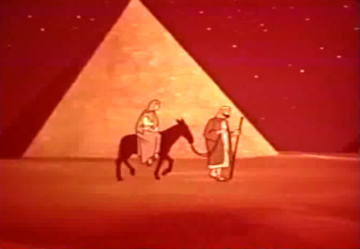 Filmation's second project was a series of short cartoons funded by the Lutheran Church about the life of Jesus Christ