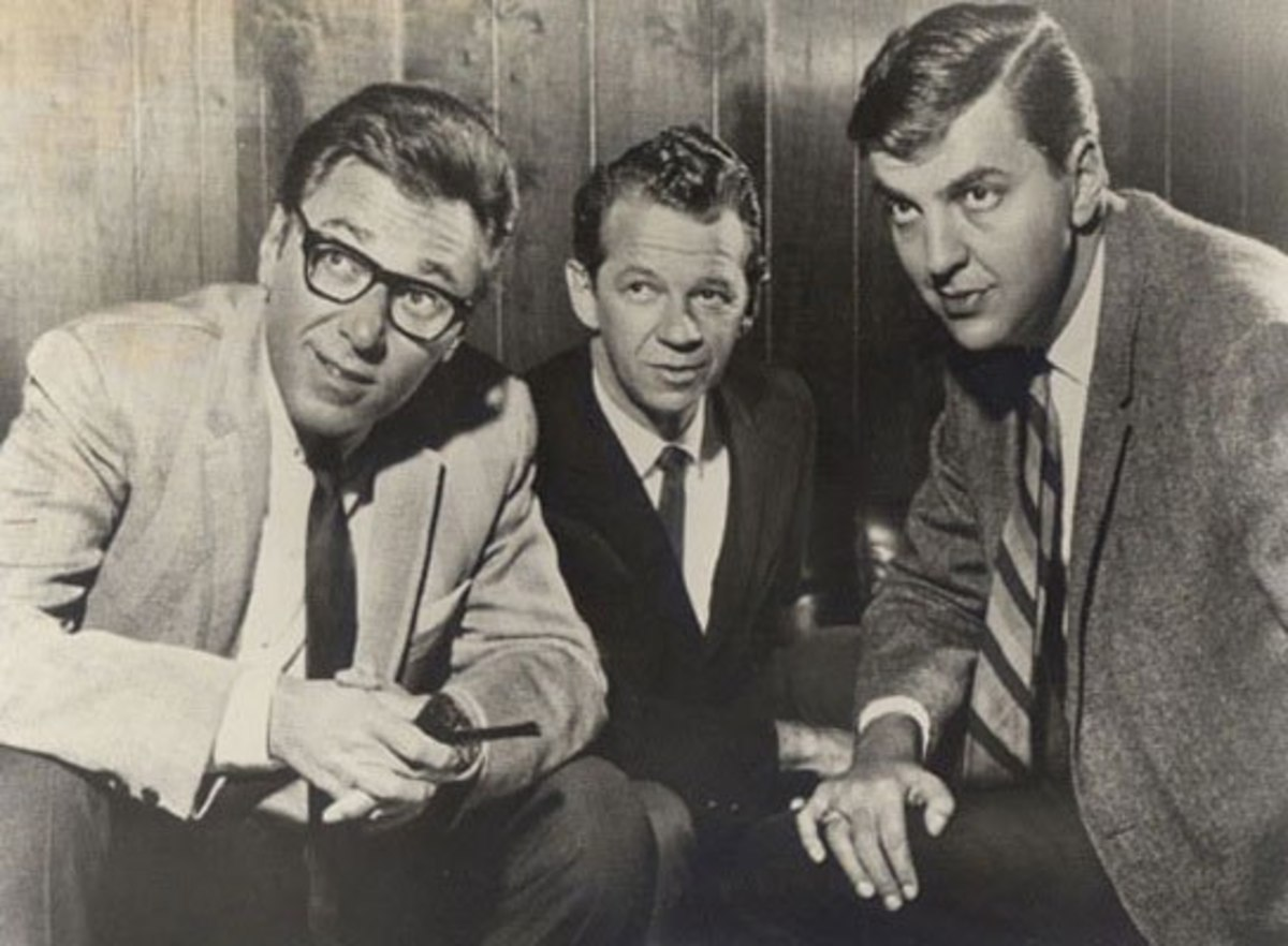 The three co-founders of Filmation (Left to Right: Norm Prescott, Hal Sutherland, Lou Scheimer)