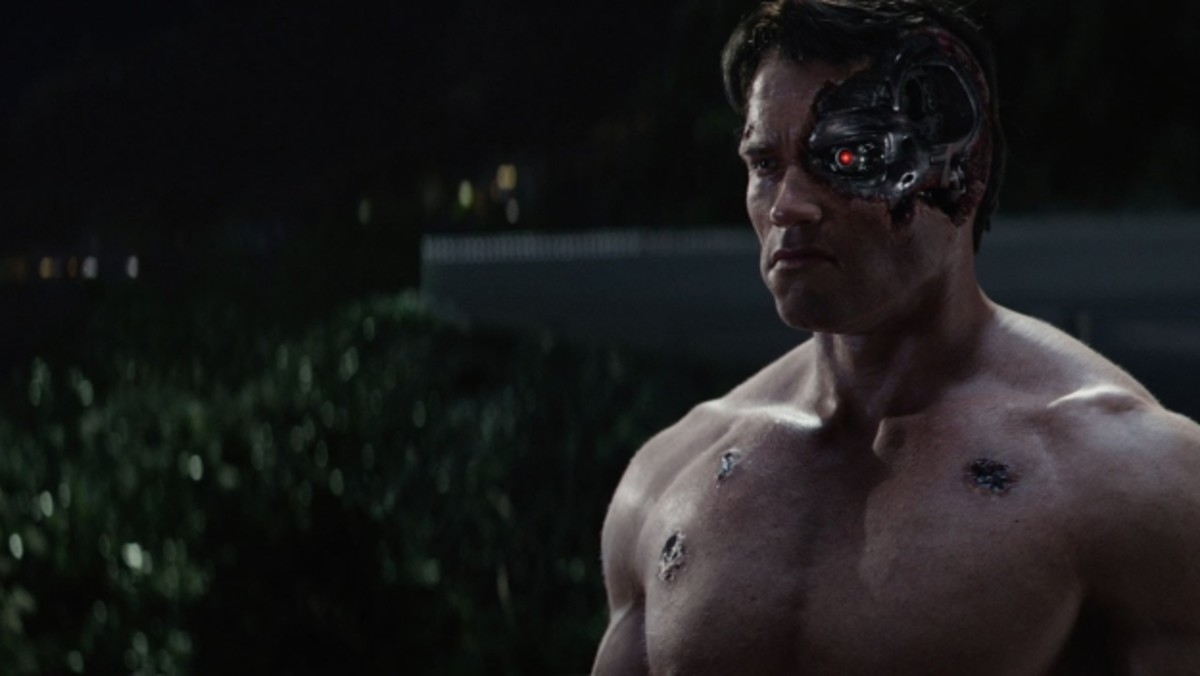 Revisiting Schwarzenegger's debut as the T-800 via CG shenanigans just reminds you how old he and the series actually are.