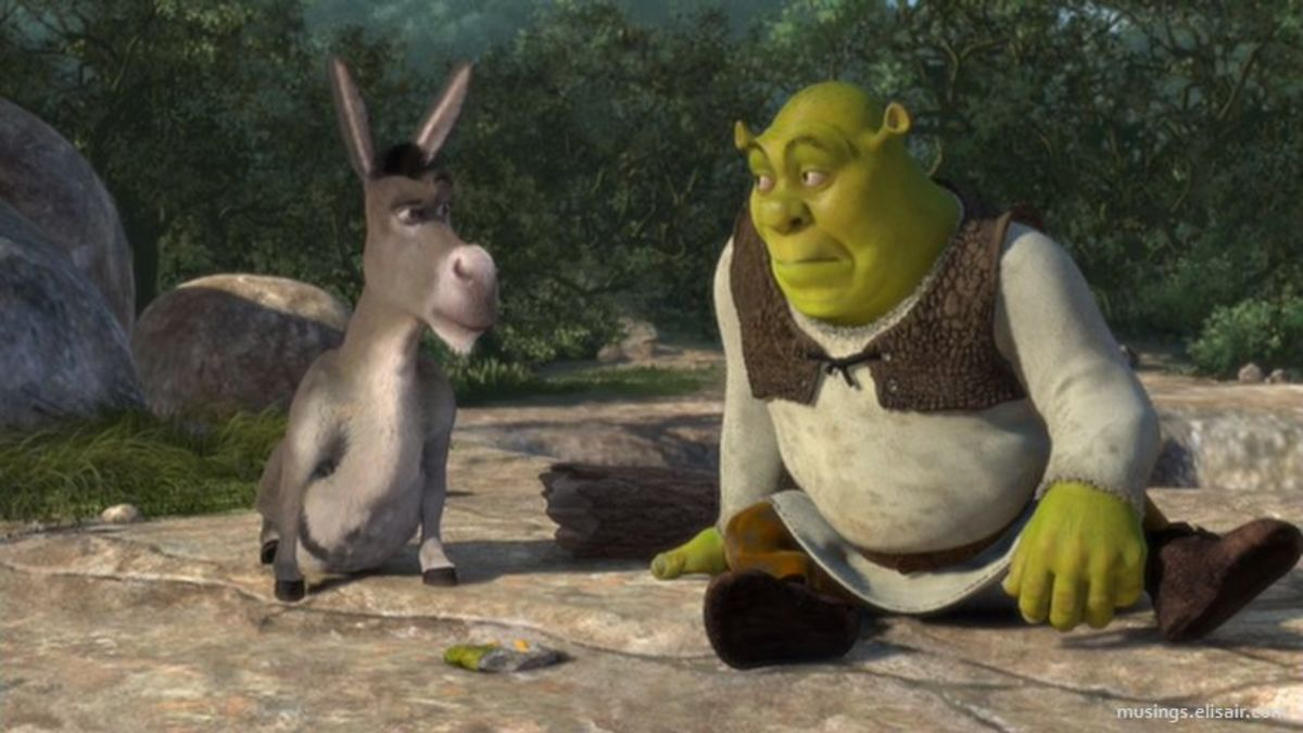 The relationship between Donkey and Shrek is played out well by the often-overlooked talents of Murphy and Myers.