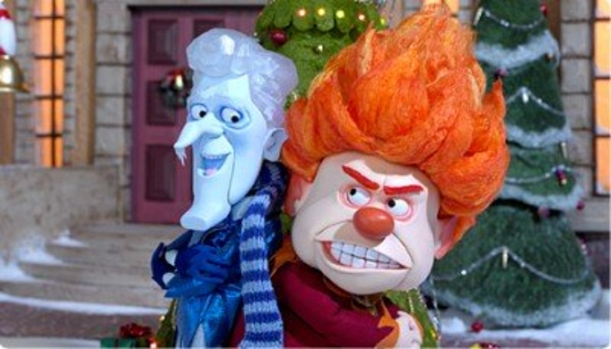 34 years later, the Miser Brothers received their own Christmas special.