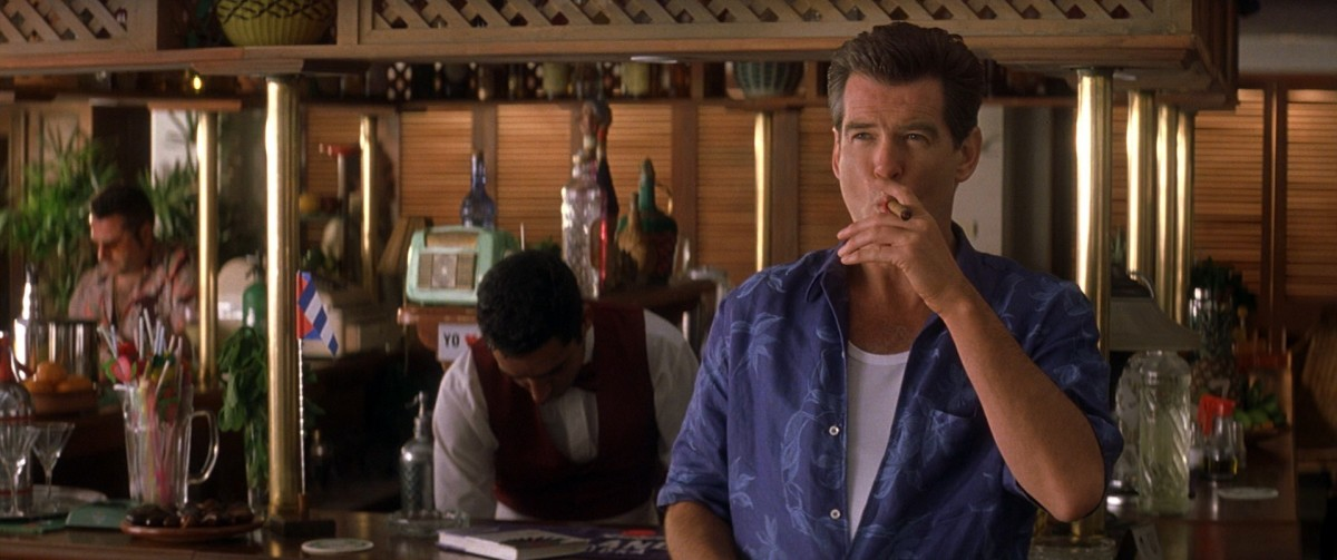 Brosnan finally becomes a parody of the role, full of slimy one-liners and uninspired wit.