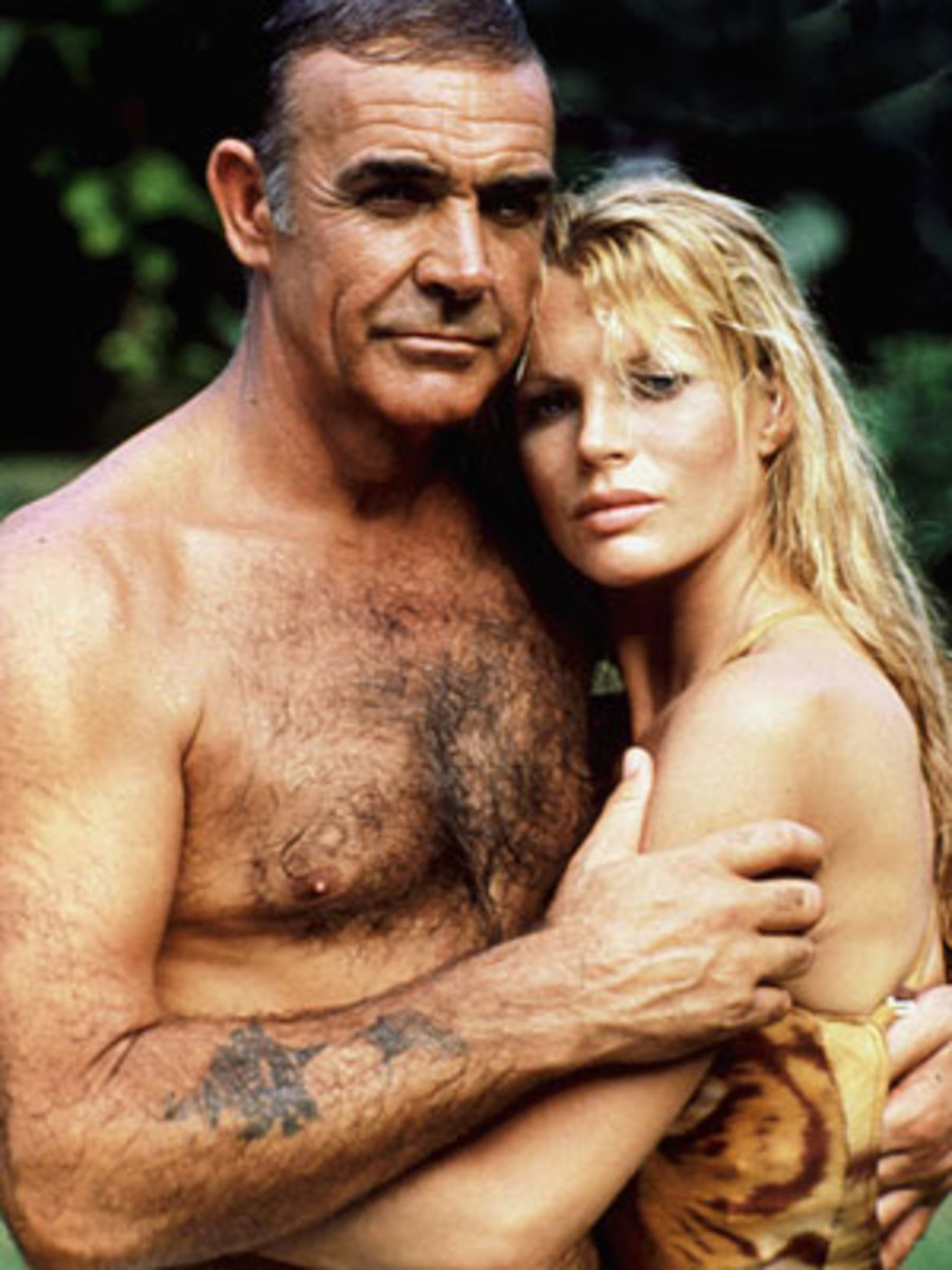 The age difference between Connery and Basinger is all too apparent and a little creepy