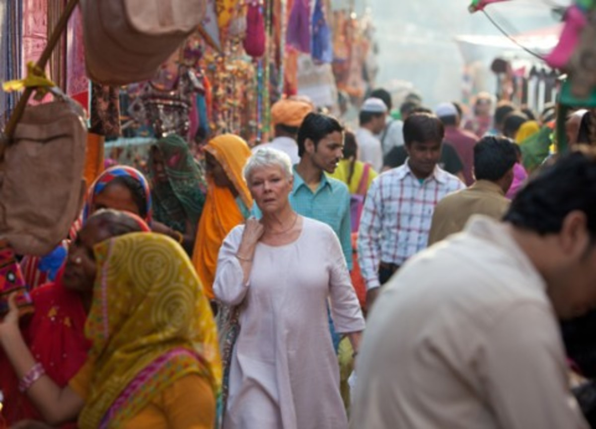 The film is awash with colour and life, framing the performance of the cast well.