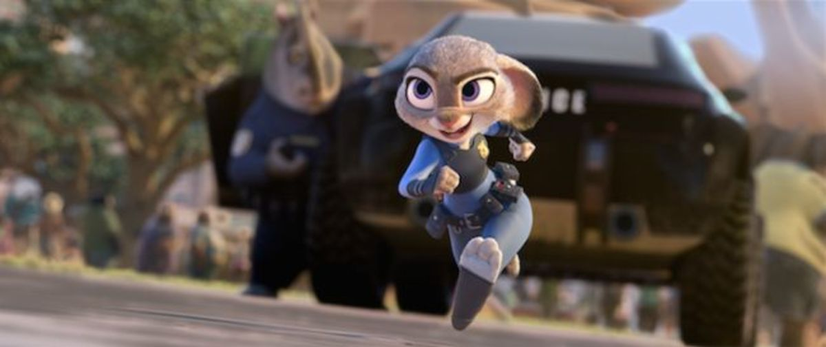 Goodwin's Officer Hopps is an endearing and enthusiastic character who is much more fleshed out than her foxy co-lead.