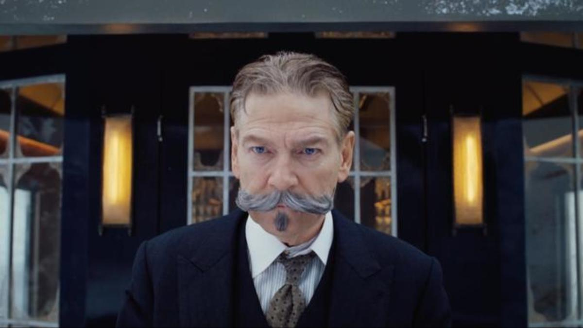 Kenneth Branagh as Detective Hercule Poirot in Murder on the Orient Express (2017)