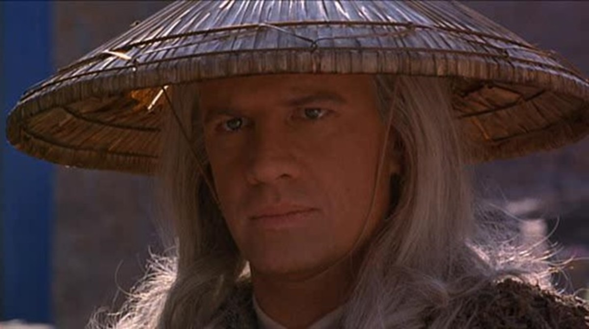 "Christopher Lambert is clearly only in it for the money in ""Mortal Kombat"""
