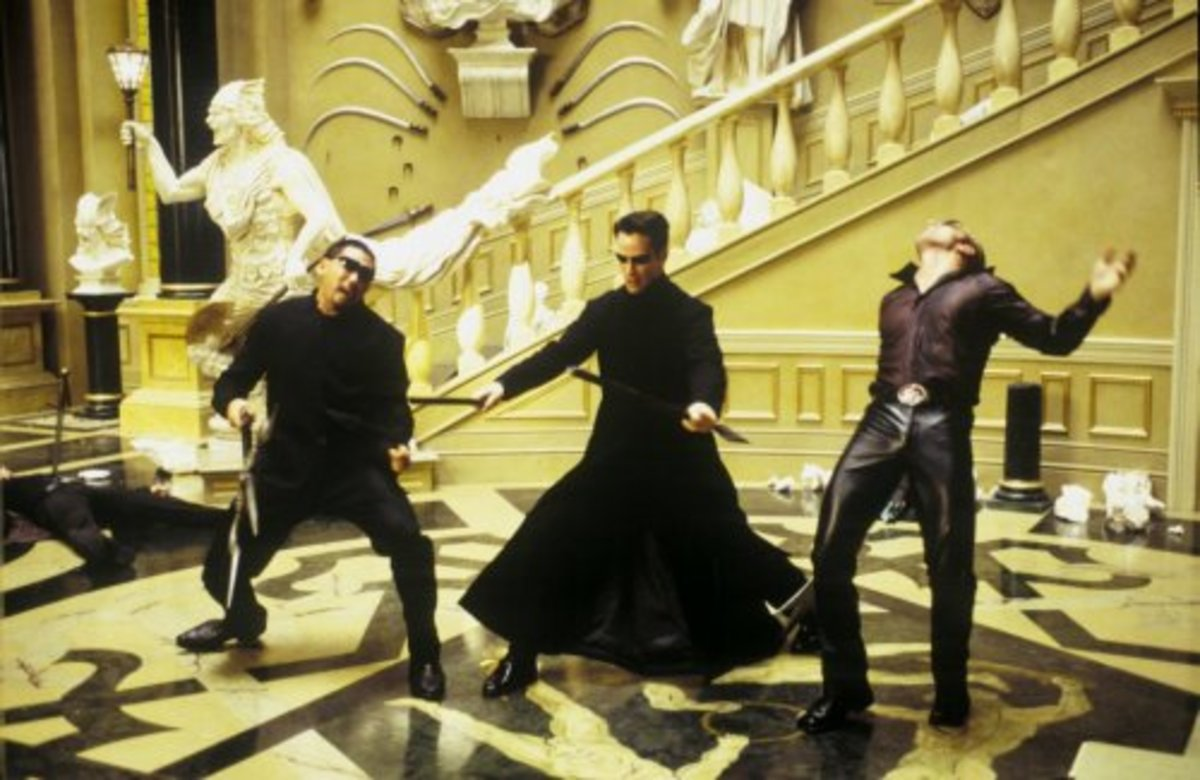 Of course, there's still plenty of slow-motion action and fancy kung-fu