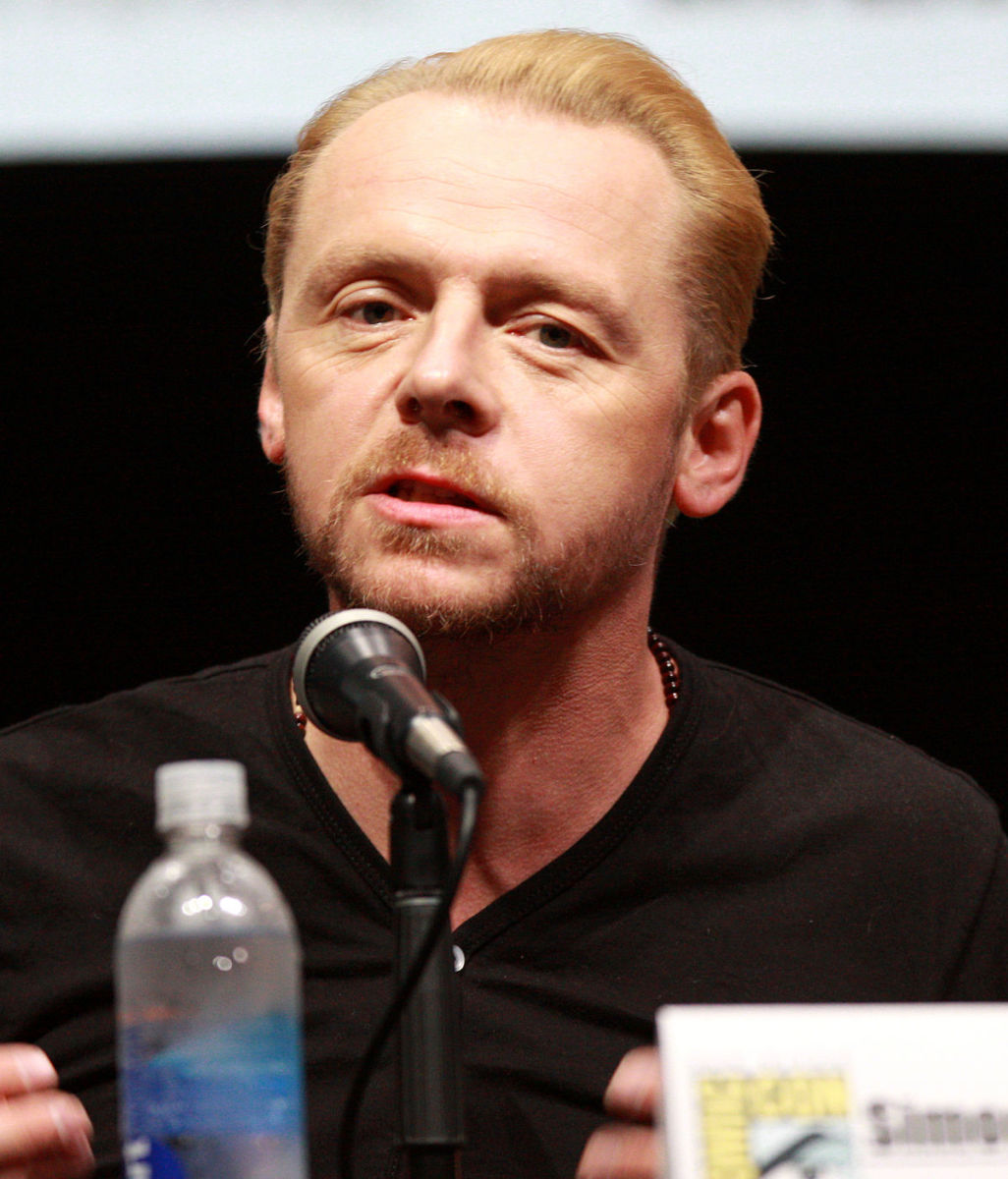 Future A-lister and Hollywood's arch-nerd Simon Pegg is one of a number of people presumably embarrassed by their cameo appearance.