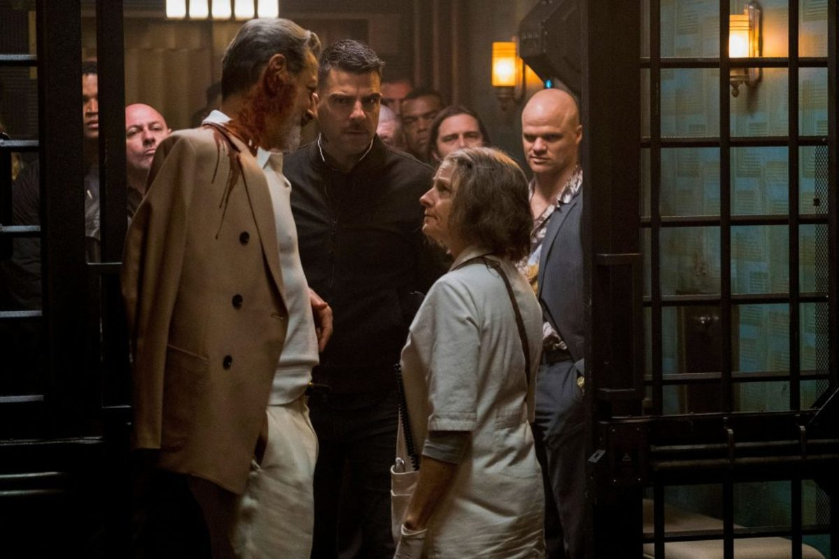 The film has a solid supporting cast including Jeff Goldblum and Zachary Quinto.