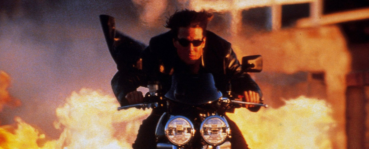 Cool guys - and stunt doubles - don't look back at explosions...