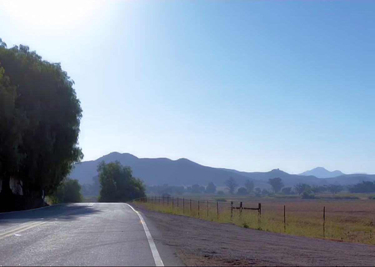 Scenery in the movie 'The Open House', a Netflix Original.
