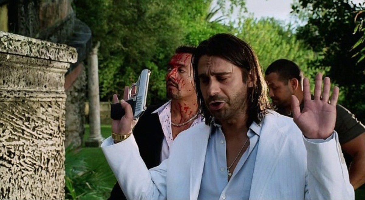 Jordi Mollà's portrayal of a Cuban drug lord feels underwritten and horribly stereotypical.