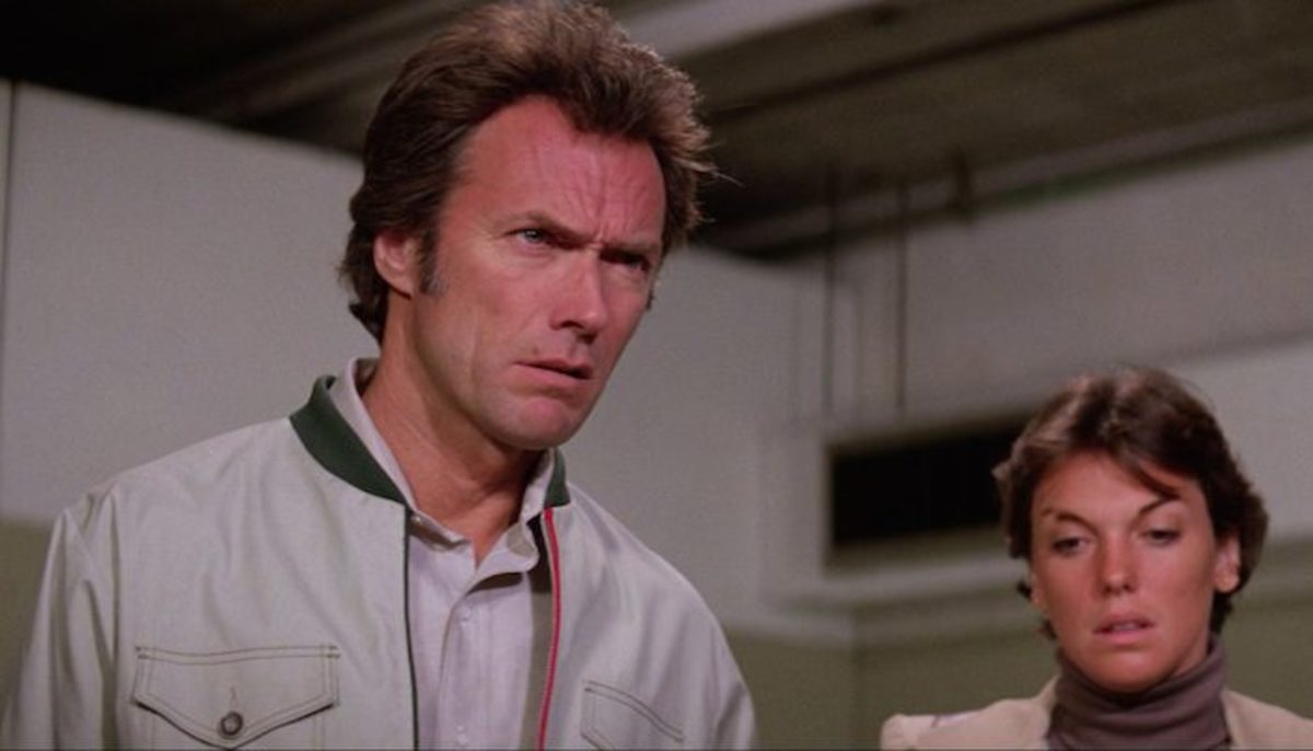 Daly's (right) character is much more interesting than Eastwood's (left) increasingly old-fashioned Neanderthal but the film sticks to its sexist guns throughout.