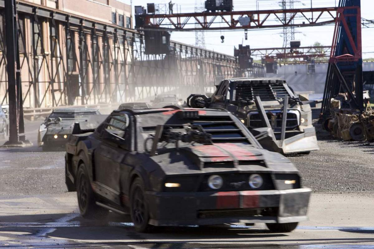 The film's many action sequences are noisy and incoherent - many of the vehicles look too similar to each other, making it hard to keep up with proceedings.