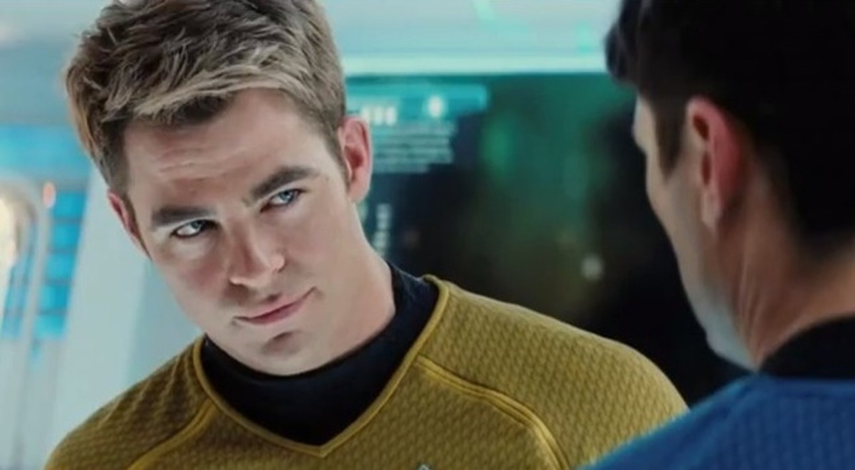 Pine captures Kirk's arrogance to such an extent, it's difficult to imagine him in charge of a star-ship- much less the iconic character beloved by so many.