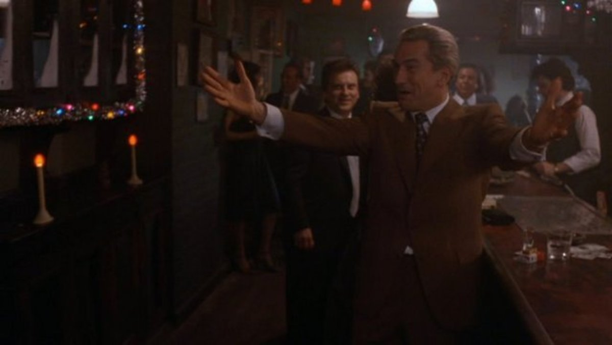 De Niro's long association with gangster films lends even more authenticity to the picture, which makes it an uncomfortable watch at times.